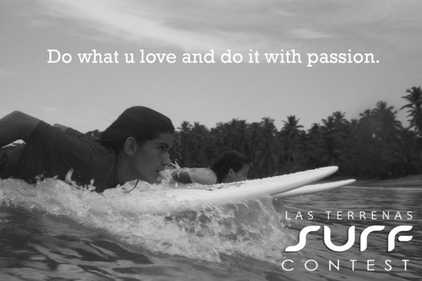 Poster Las Terrenas Surf Contest - Photo, Cocept and Graphic Design.