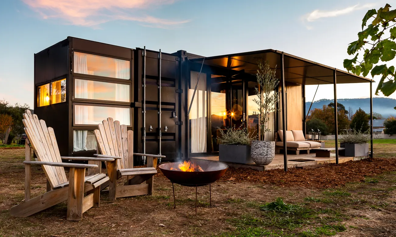 ejemplo de Container Home